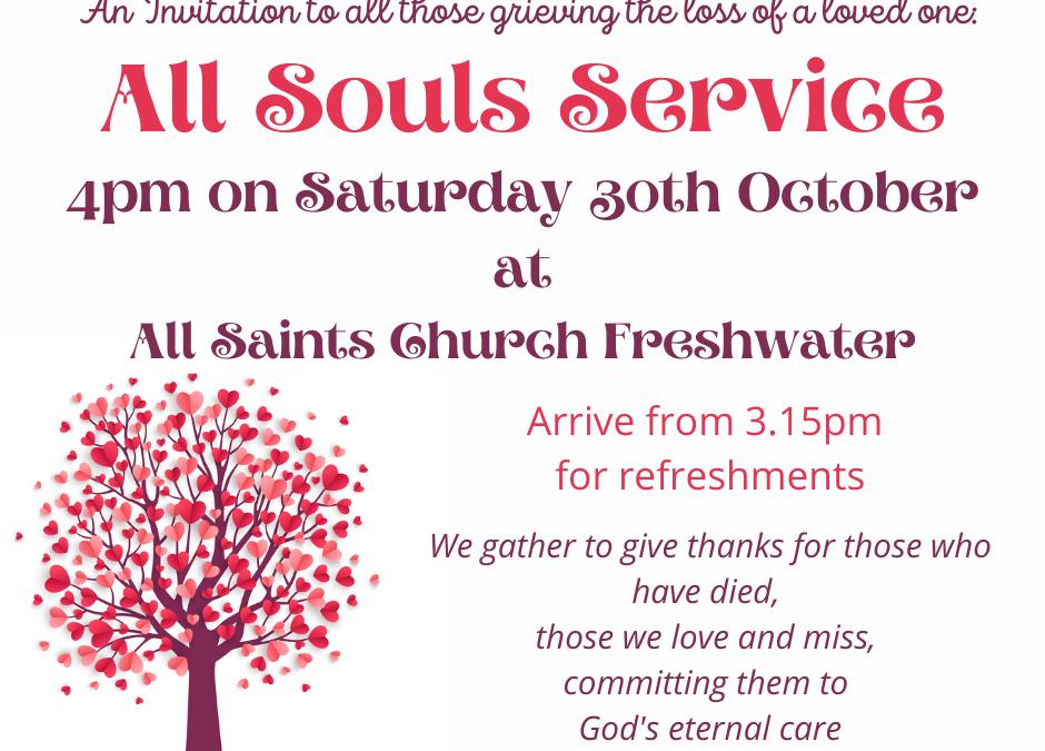 All Souls Service at All Saints Church